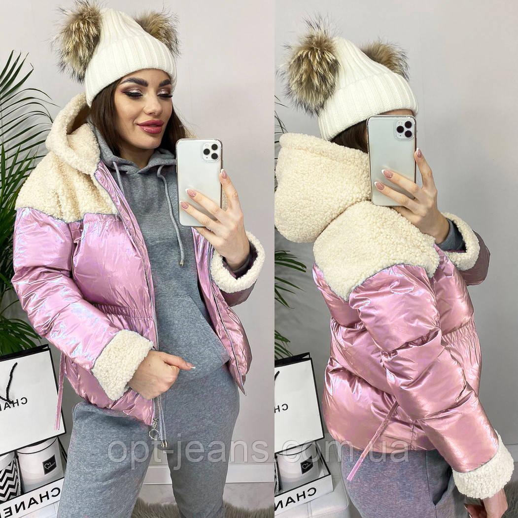 0627 розовая Ruixi куртка женская демисезонная (M-XL. 3 ед.)