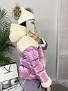 0627 розовая Ruixi куртка женская демисезонная (M-XL. 3 ед.), фото 3