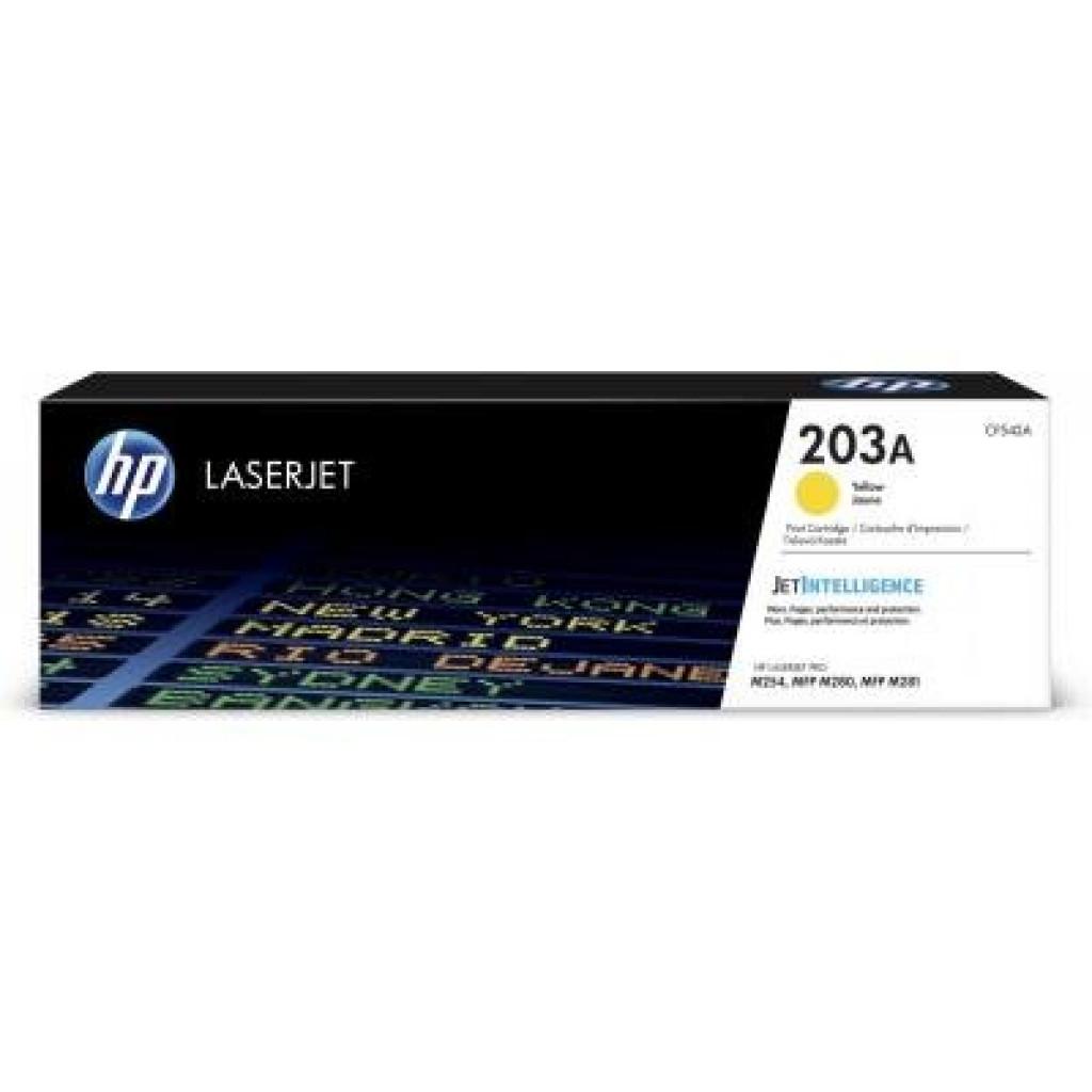 Картридж HP CLJ  203A Yellow 1.3K (CF542A)