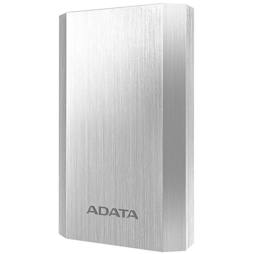 Батарея универсальная ADATA A10050 10050mAh Silver (AA10050-5V-CSV)