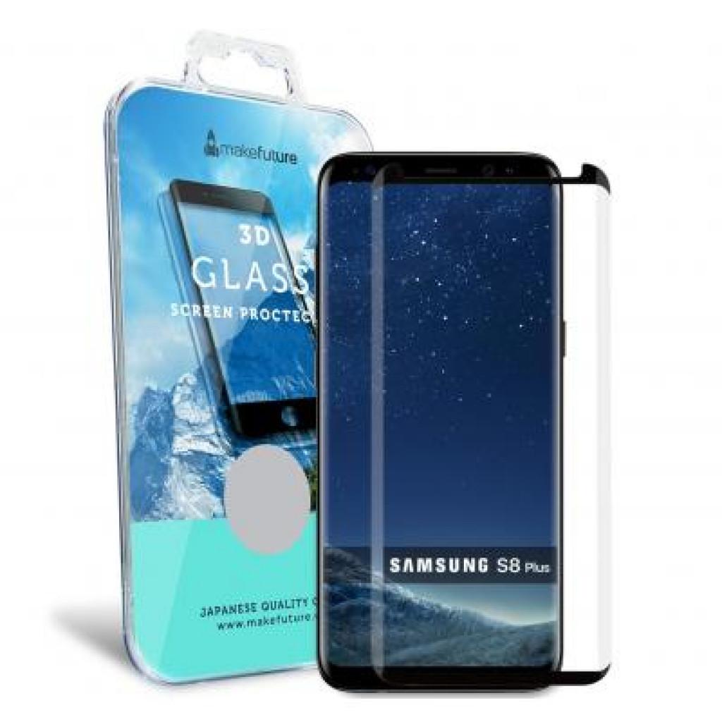 Пленка защитная MakeFuture для Samsung S8 Plus Black 3D (MF3D-SS8PB)