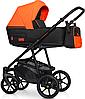 Дитяча універсальна коляска 3 в 1 Riko Swift Neon 24 Party Orange, фото 8