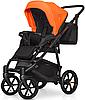 Дитяча універсальна коляска 3 в 1 Riko Swift Neon 24 Party Orange, фото 7