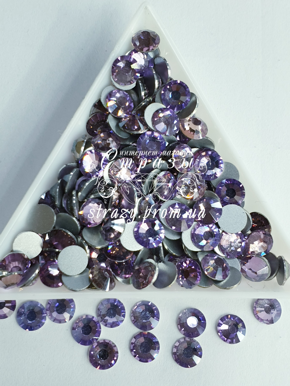 "Стрази ss30 Lt.Violet (4,0 мм) 280шт ""Crystal Premium"""