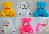 Медведь Тедди сидячий 27*28 см, 10 цветов