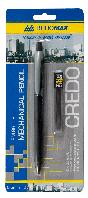 Карандаш механический CREDO и сменные стержни в картонном блистере, 0.5мм