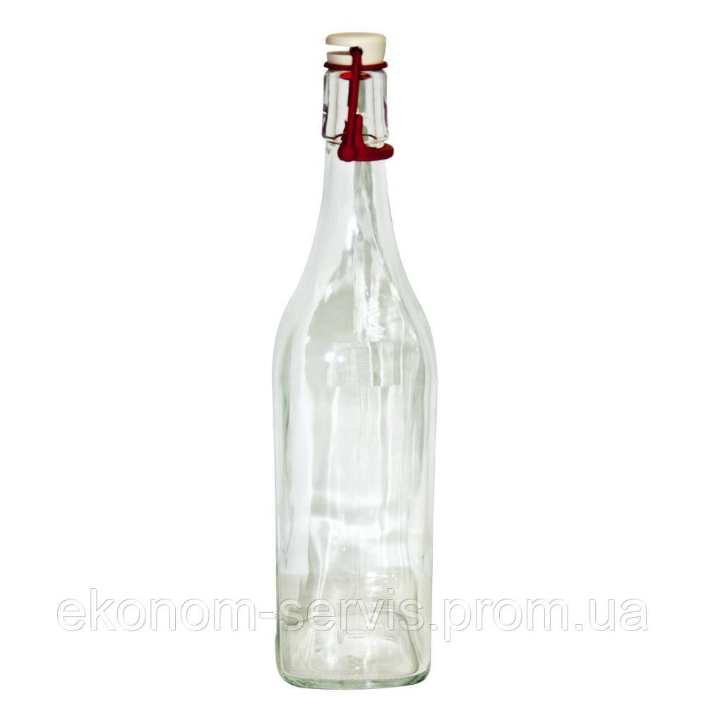 Пляшка Homemade 1000мл з буг.замком РЕВО ТМ Everglass