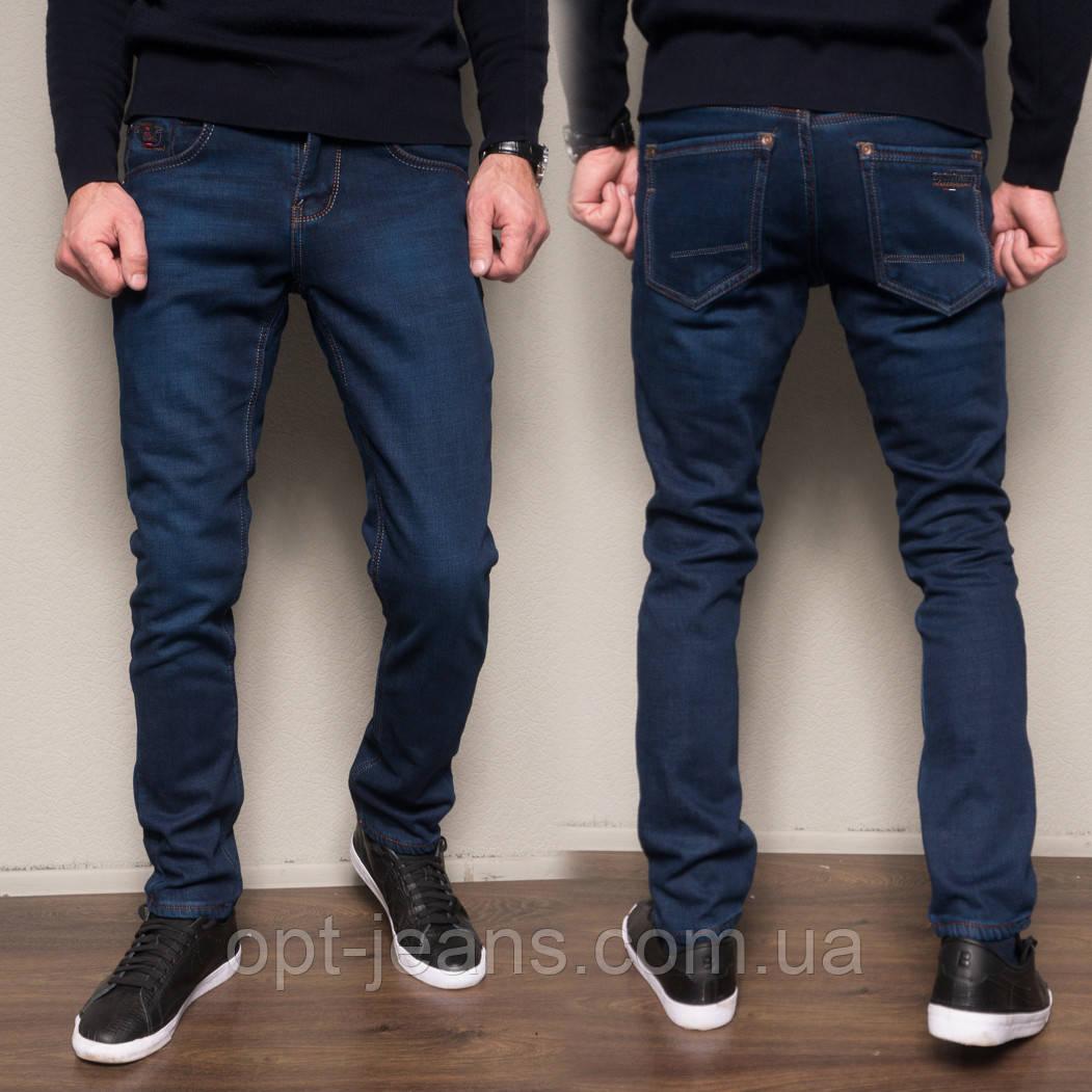 3029 Dsouaviet джинсы мужские полубатальные на флисе зимние стрейчевые (32-38, 8 ед.)