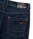3029 Dsouaviet джинсы мужские полубатальные на флисе зимние стрейчевые (32-38, 8 ед.), фото 4
