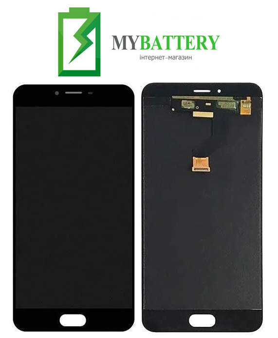 Дисплей (LCD) Meizu M3x (Meizu X) с сенсором черный