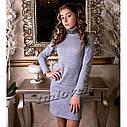 Платье теплое для девочек Delain tm LOVEIS Размеры 140- 170, фото 2