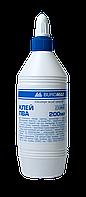 Клей ПВА 200мл, JOBMAX колпачок-дозатор