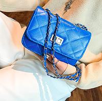 Сумка женская клатч через плечо Kaila charm Синий, фото 1