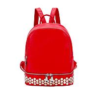 Рюкзак женский кожзам с заклепками Kaila, фото 1