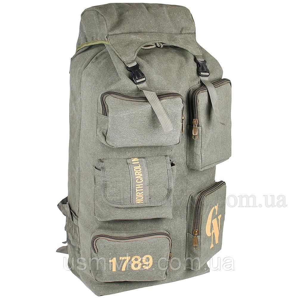 Рюкзак туристический CN зеленый 50319