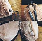 Женский рюкзак  из меха в модных цветах., фото 6