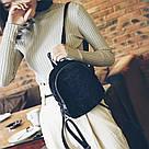 Женский рюкзак  из меха в модных цветах., фото 5
