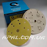 Q-Refinish Абразивный круг P500 Premium Gold Velcro, (150 мм, 15 отверстий)