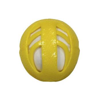 Игрушка для собак CROCI CATCHER Мяч, резина, желтый, 10см