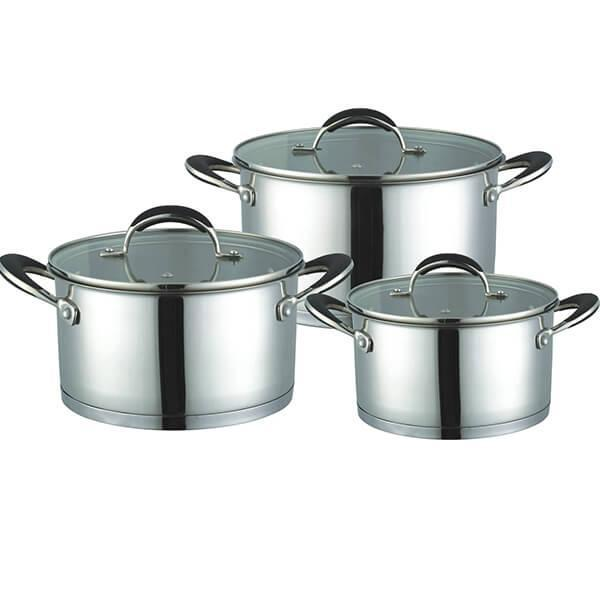 Набор посуды Maestro  6 предметов нержавейка (3502 MR)