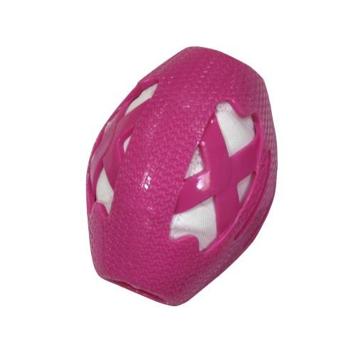 Игрушка для собак CROCI CATCHER Регби мяч, резина, розовый, 14см