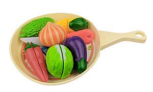 Резка овощей и фруктов 666-58AB(Beige) Бежевый со сковородкой