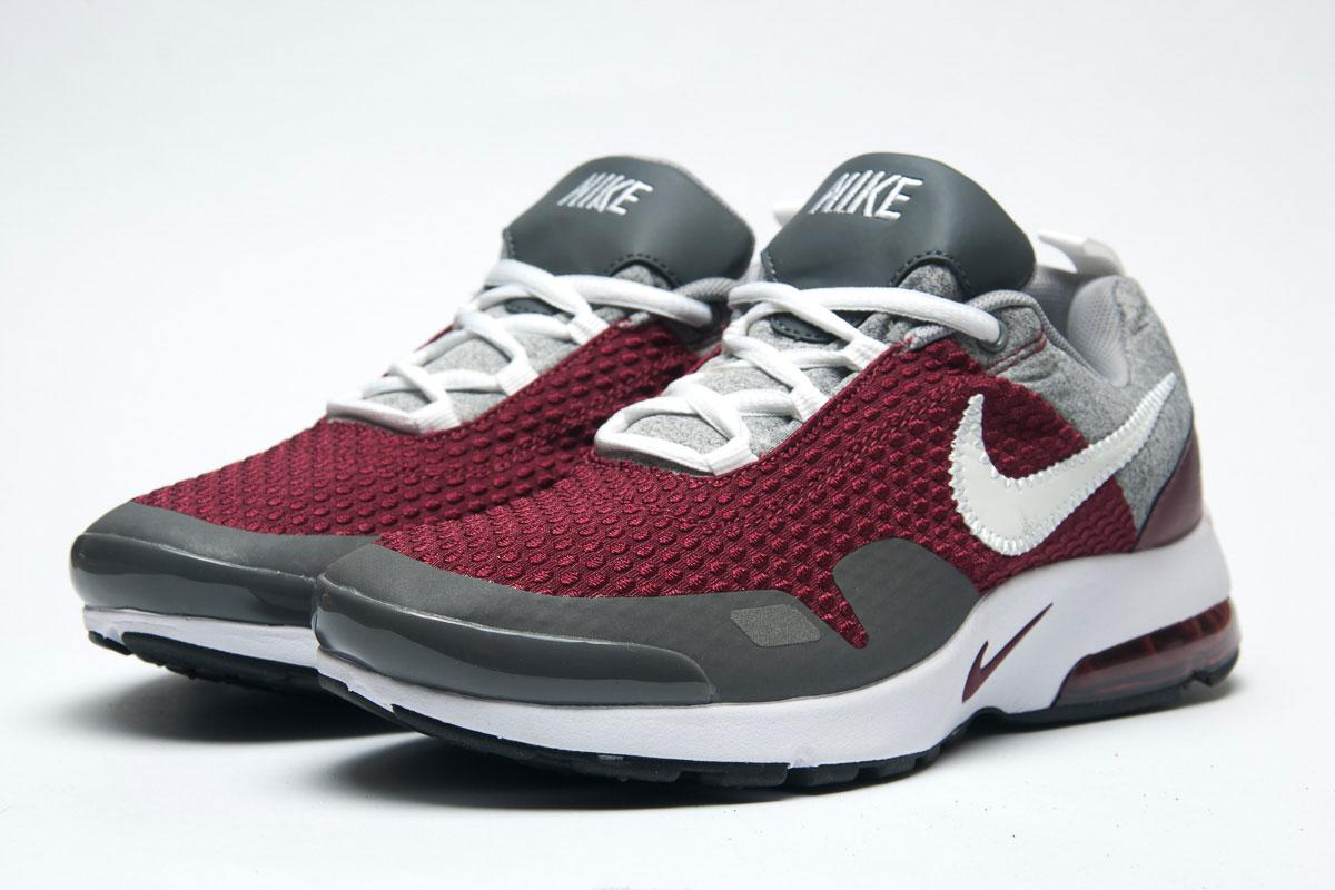 Кроссовки мужские 11332, Nike, бордовые, < 41 > р. 41-26,0см.
