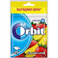 Жувальна гумка Orbit Полуниця-банан, 35 г