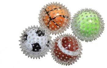 Игрушка для собак CROCI Спорт мячи, шипованнная, резина,  9см