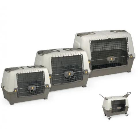 Переноска для авто SKUDO CAR IATA  80 для котів та собак,  77*43*51 см