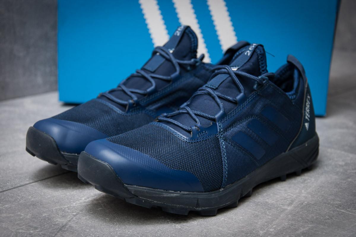 Кроссовки мужские 11812, Adidas  Terrex, темно-синие, < 41 43 > р.41-26,0
