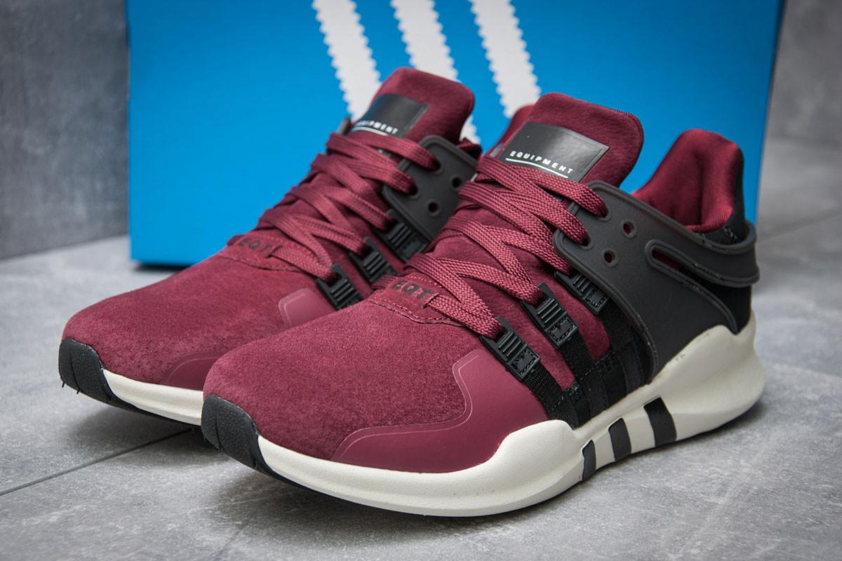 Кроссовки мужские 11996, Adidas  EQT ADV/91-16, бордовые, < 42 > р. 42-26,8см.