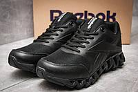 Кроссовки мужские 12241, Reebok  Zignano, черные, < 43 > р. 43-27,2см., фото 1