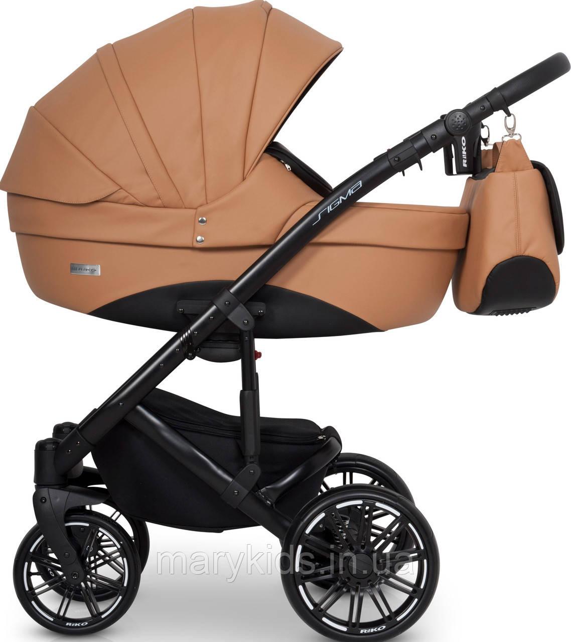 Дитяча універсальна коляска 3 в 1 Riko Sigma 03 Caramel
