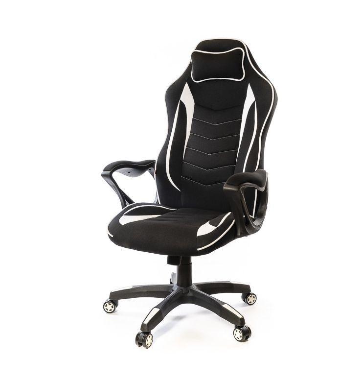 Кресло Кронум • АКЛАС • PL TILT чёрно-белый