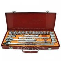 Набір головок ручного інструменту LTL10101 в металічному кейсі
