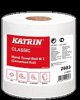 Бумажные полотенца Katrin Classic в рулоне c центральной вытяжкой 2603