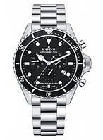 Мужские часы EDOX 10238 3NM BUI Chronograph SKYDIVER 70s