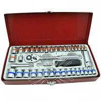 Набір ручного інструменту LTL10102 в металічному кейсі