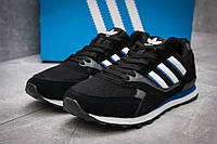 Кроссовки мужские 12424, Adidas  City, черные, < 41 > р.41-26,0
