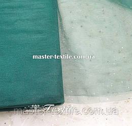 Фатин CRYSTAL(темно-зеленый)