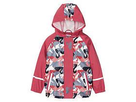 """Куртка-дощовик для дівчинки """"Лебеді"""""""