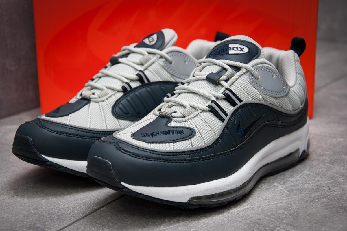 Кроссовки мужские 12674, Nike Aimax Supreme, темно-синие, < 42 > р. 42-26,4см.