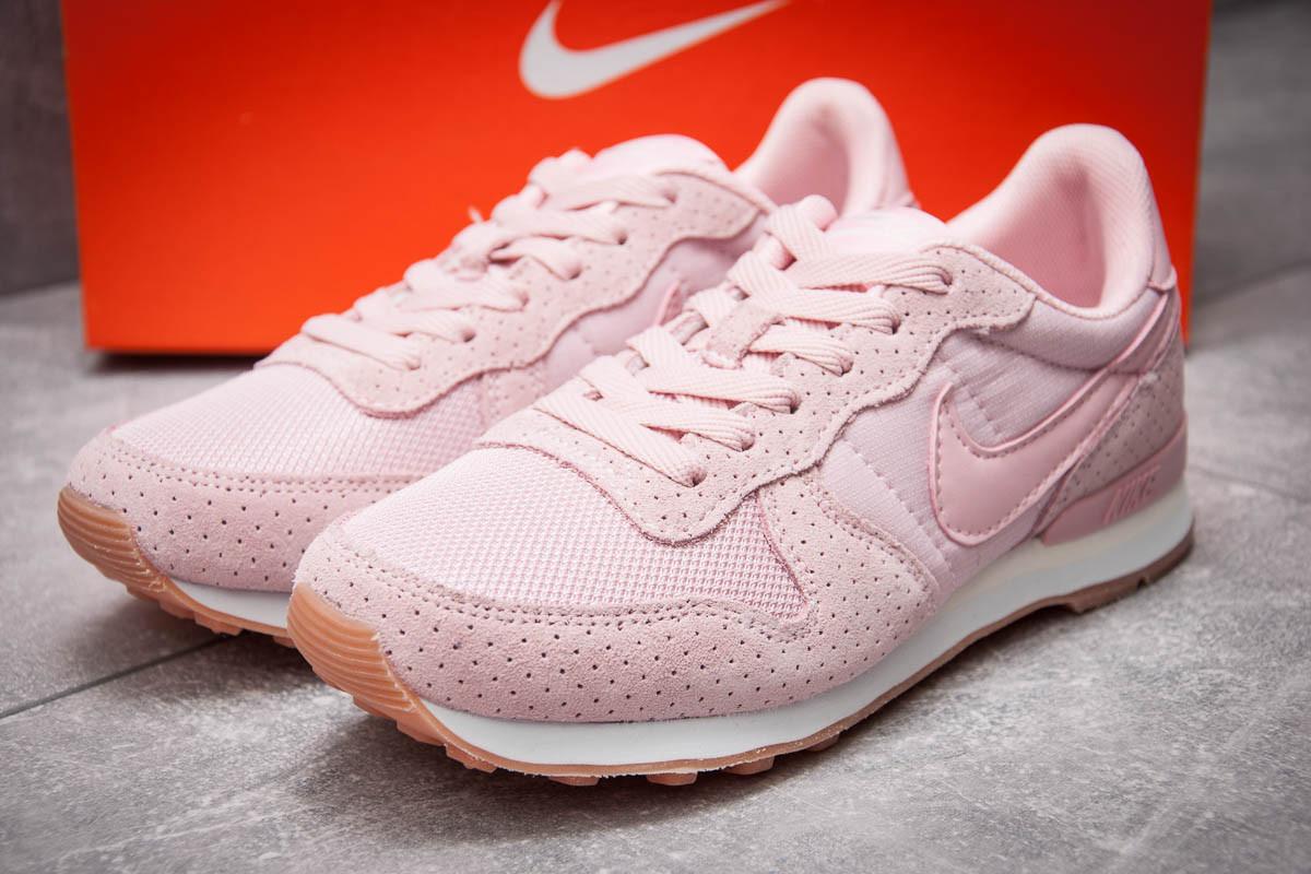 Кроссовки женские 12923, Nike Internationalist, розовые, < 36 > р. 36-22,6см.