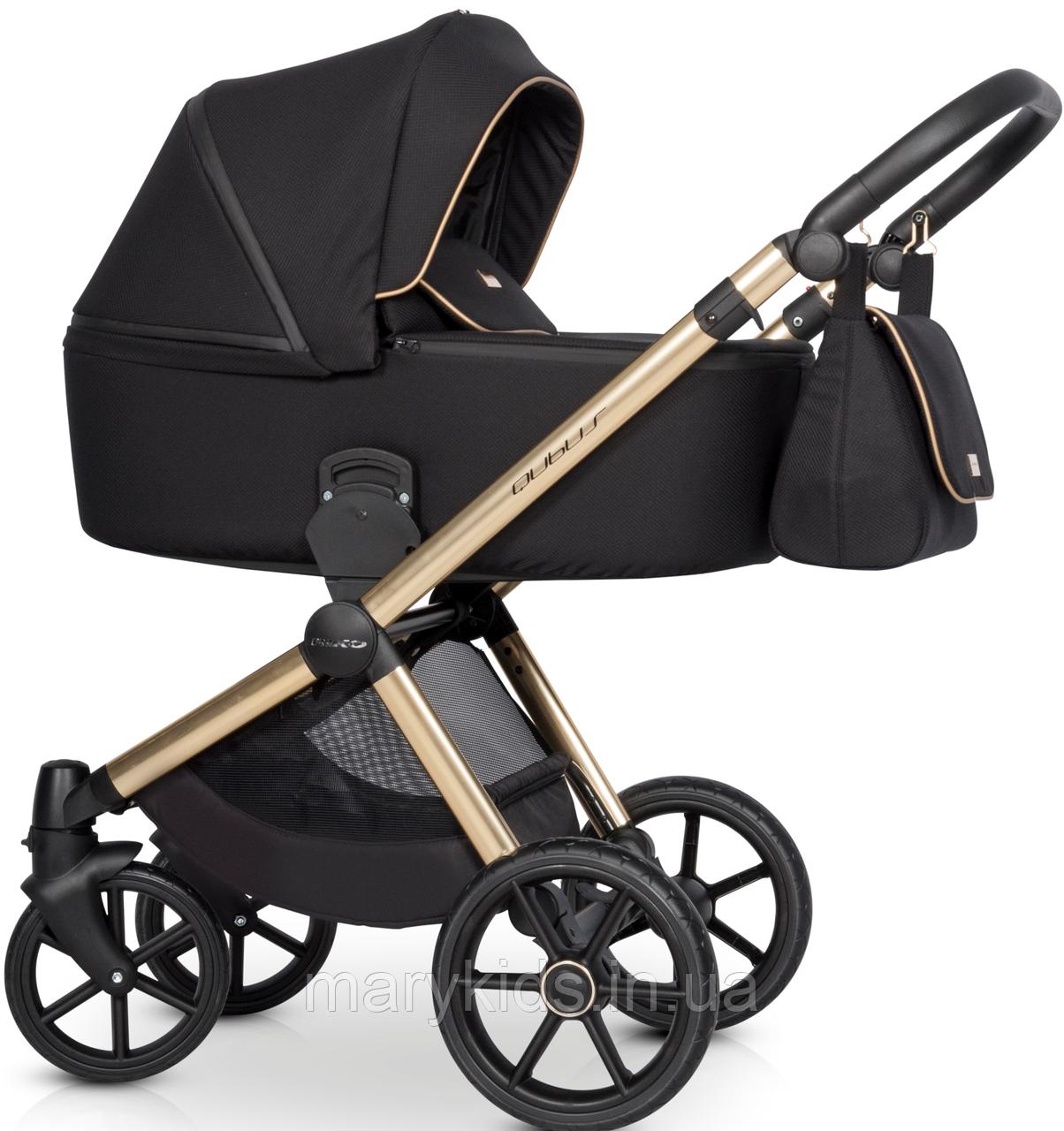Детская универсальная коляска 3 в 1 Riko Qubus 05 Gold