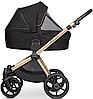 Детская универсальная коляска 3 в 1 Riko Qubus 05 Gold, фото 7
