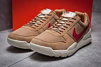 Кроссовки мужские 13154, Nike Apparel, коричневые, < 41 42 44 > р. 41-26,0см., фото 1