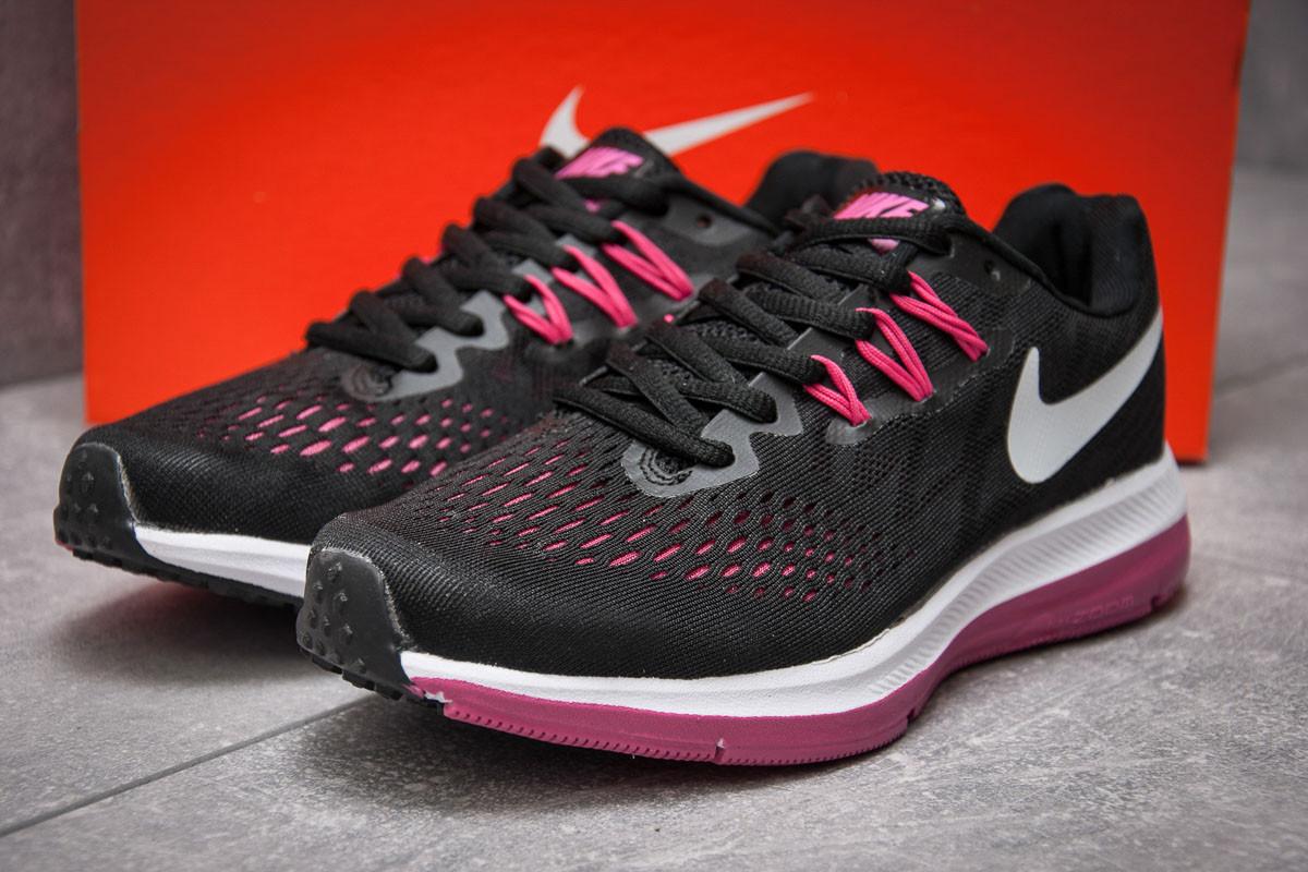 Кроссовки женские 13181, Nike Zoom Pegasus V4, черные, < 40 > р.40-25,9
