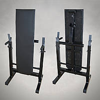 Лавка для жиму зі Стійками та Штанга 75 кг, фото 3