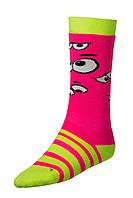 Шкарпетки лижні дитячі Relax Happy RS035A M Green-Pink